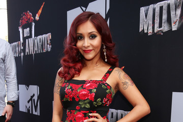 Nicole Polizzi Arrivals at the MTV Movie Awards — Part 3