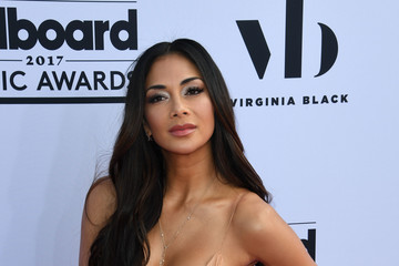 Nicole Scherzinger 2017 Billboard Music Awards - Magenta Carpet