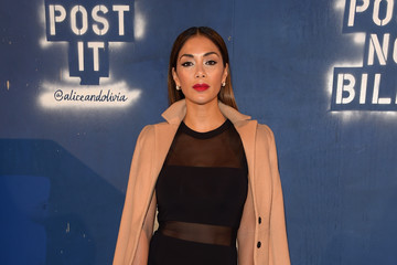 Nicole Scherzinger Alice + Olivia By Stacey Bendet - Arrivals - Fall 2016 New York Fashion Week: The Shows