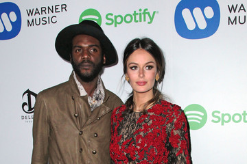 Nicole Trunfio Warner Music Group Grammy Celebration