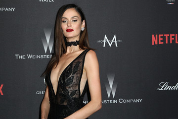 Nicole Trunfio The Weinstein Company and Netflix Golden Globe Party, Presented With FIJI Water, Grey Goose Vodka, Lindt Chocolate, and Moroccanoil - Red Carpet