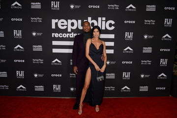 Nicole Williams Larry English Republic Records Grammy After Party At Spring Place Beverly Hills - Arrivals