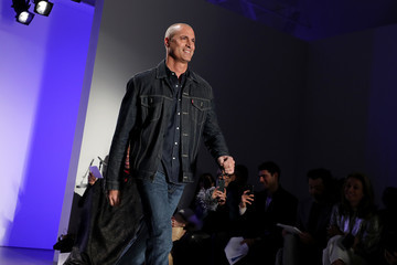 Nigel Barker The Blue Jacket Fashion Show At NYFW