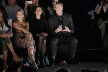 Nigel Barker Desigual - Front Row - Mercedes-Benz Fashion Week Fall 2015