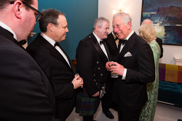 The Prince Of Wales & Duchess Of Cornwall Attend A Dinner To Mark St Patrick's Day
