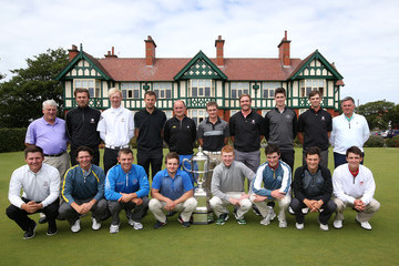 Nigel Edwards The Walker Cup Squad Meeting