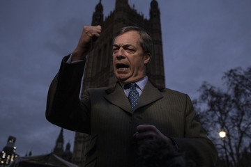 Nigel Farage European Best Pictures Of The Day - December 11, 2018