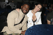 Reggie Bush and Lilit Avagyan attend the 'Night One At Palms Casino Resort's KAOS Dayclub & Nightclub With Travis Scott And Skrillex For Grand Opening Weekend' event on April 5, 2019 in Las Vegas, Nevada.