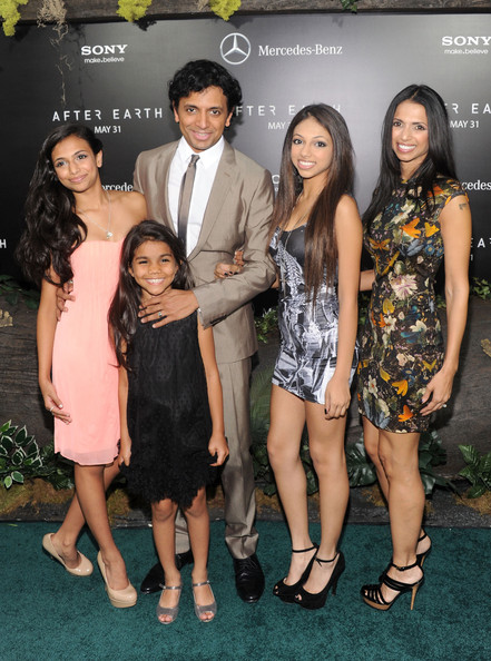 M Night Shyamalan Family  After Earth  Premieres in NYC