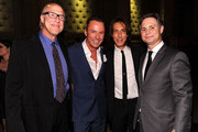 (L-R) Dr. Richard Ash, Colin Cowie, Edward Tricomi and Jason Binn attend A Night of Style & Glamour to welcome newlyweds Kim Kardashian and Kris Humphries at Capitale on August 31, 2011 in New York City.