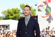 Sam Claflin  walks the red carpet ahead of the 'The Nightingale' screening during the 75th Venice Film Festival at Sala Grande on September 6, 2018 in Venice, Italy.