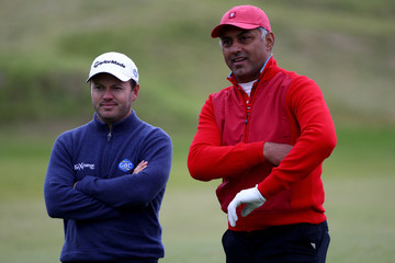 Nikesh Arora Alfred Dunhill Links Championship - Day Two