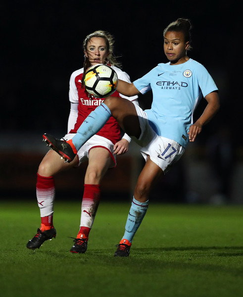 Arsenal Women Vs. Manchester City Ladies: WSL Continental Cup Final