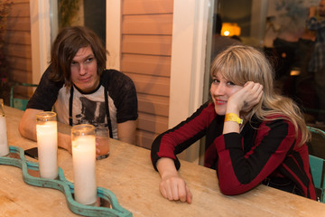 Nikolai Fraiture Marshall Headphones Speakeasy Pop-Up Dinner