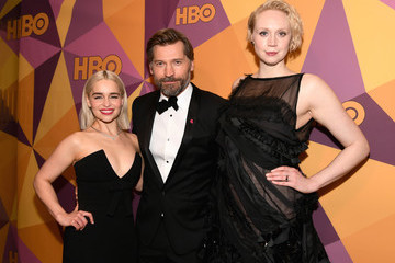 Nikolaj Coster-Waldau Gwendoline Christie HBO's Official Golden Globe Awards After Party - Red Carpet