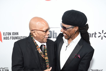 Nile Rodgers 28th Annual Elton John AIDS Foundation Academy Awards Viewing Party Sponsored By IMDb, Neuro Drinks And Walmart - Red Carpet