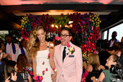 "Nina Agdal and Dj Quintero celebrate ""Knot-A-Real-Wedding"" in honor of Conair's The Knot Dr. Detangling Brush in New York City."