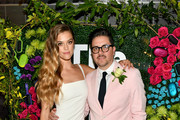 """Nina Agdal and Dj Quintero celebrate """"Knot-A-Real-Wedding"""" in honor of Conair's The Knot Dr. Detangling Brush in New York City."""