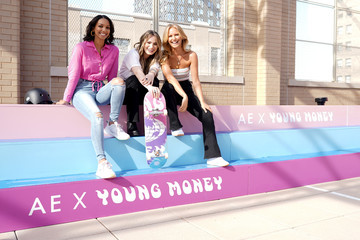 Nina Agdal American Eagle And Lil Wayne Celebrate AE x Young Money Collab And Fall '19 Campaign