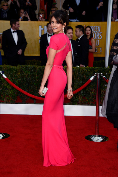 Nina Dobrev - 19th Annual Screen Actors Guild Awards - Arrivals