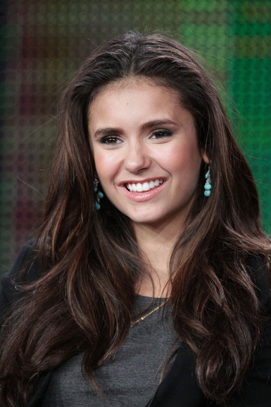 Nina Dobrev Actress Nina Dobrev speaks during the 'Kick-Ass Women Of The CW' panel during the CW portion of the 2011 Winter TCA press tour held at The Langham Huntington Hotel on January 14, 2011 in Pasadena, California.