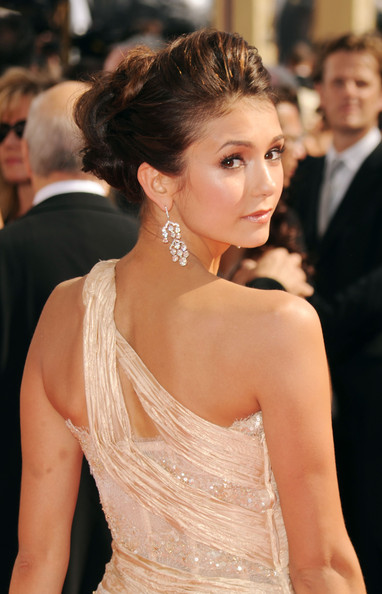 Nina Dobrev Actress Nina Dobrev arrives at the 62nd Annual Primetime Emmy Awards held at the Nokia Theatre L.A. Live on August 29, 2010 in Los Angeles, California.