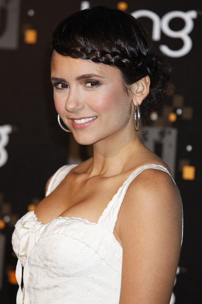 Nina Dobrev Actress Nina Dobrev attends The CW premiere party at Warner Bros. Studios on September 10, 2011 in Burbank, California.
