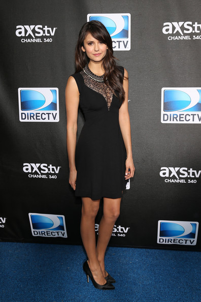 Nina Dobrev - DIRECTV Super Saturday Night Featuring Special Guest Justin Timberlake & Co-Hosted By Mark Cuban's AXS TV