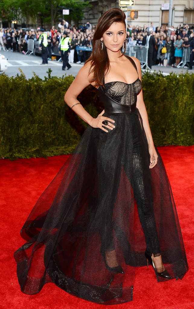 Nina Dobrev - Red Carpet Arrivals at the Met Gala