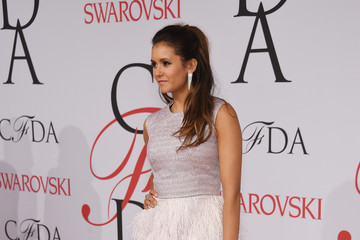 Nina Dobrev 2015 CFDA Fashion Awards - Inside Arrivals