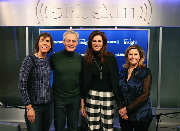 Kyle MacLachlan And Desiree Gruber Sit Down With Pattie Sellers And Nina Easton For SiriusXM's 'Making A Leader' Series [kyle maclachlan,nina easton,wife,desiree gruber sit down,pattie sellers,host,desiree gruber,event,team,company,media,making a leader,series,siriusxm]
