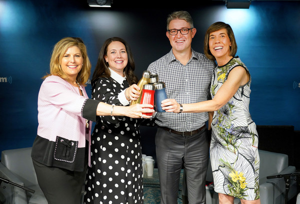 SiriusXM Insight's 'Making A Leader' Series [event,product,yellow,fashion,drink,competition,photography,award ceremony,party,leisure,series,jeff peck,sarah kauss,ceo,nina easton,founder,series,swell,siriusxm insights making a leader,siriusxm insights making a leader]