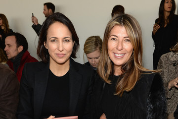 Nina Garcia Anne Fulenwider Front Row at the Michael Kors Show