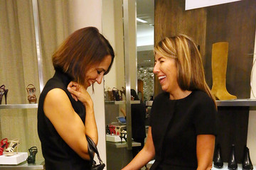 Nina Garcia Anne Fulenwider Marie Claire's Shoes First Shopping Event