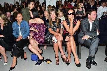 Nina Garcia Calvin Klein Collection - Front Row - Mercedes-Benz Fashion Week Spring 2015