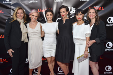 Nina Lederman Sarah Gertrude Shapiro Lifetime and Us Weekly Host 'UnREAL' Premiere Party - Red Carpet