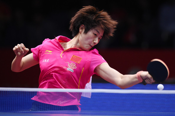 Ning ding ning ding photos 2014 world team table - Table tennis world championship 2014 ...