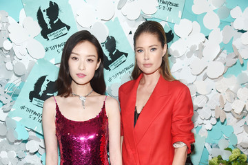 Nini Tiffany & Co. Paper Flowers Event And Believe In Dreams Campaign Launch
