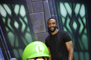 Patrick Patterson visits the Nintendo booth during the 2019 E3 Gaming Convention at the Los Angeles Convention Center on June 11, 2019 in Los Angeles, California.