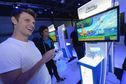 Nick Carter attends the Nintendo Hosts Wii U Experience In Los Angeles on September 20, 2012 in Los Angeles, California.