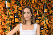 Louise Roe attends the Ninth-Annual Veuve Clicquot Polo Classic Los Angeles at Will Rogers State Historic Park on October 6, 2018 in Pacific Palisades, California.