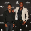 Asafa Powell and Michael Frater Photos