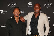 Asafa Powell and Michael Frater Photos Photo
