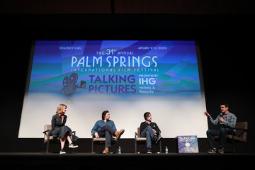 Noah Baumbach Adam Driver 31st Annual Palm Springs International Film Festival – Talking Pictures Screening 'Marriage Story'