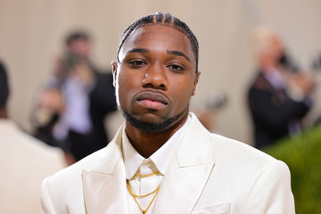 Noah Lyles The 2021 Met Gala Celebrating In America: A Lexicon Of Fashion - Arrivals