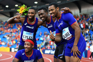 Noah Lyles Tyquendo Tracey IAAF Continental Cup - Day 1