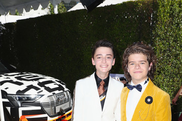 Noah Schnapp Audi At The 70th Annual Emmy Awards