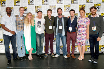 Noah Wyle TNT At Comic-Con International: San Diego 2015 - 'Falling Skies' Press Room