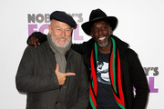 Corbin Bernsen (L) and Michael K. Williams attend 'Nobody's Fool' New York Premiere at AMC Lincoln Square Theater on October 28, 2018 in New York City.