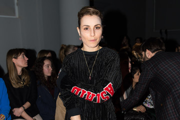 Noomi Rapace Day 3 - Front Row - LFW FW15